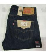 Levis Strauss 501 36 X 32 Mens Blue Jeans XX Original Cotton Denim NWT D... - $49.99