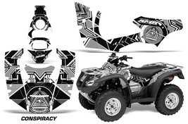 ATV Decal Graphics Kit Quad Wrap For Honda FourTrax Rincon 2006-2018 CNSPRCY WHT - $168.25