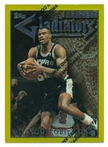 1996-97 Finest Gold Gladiators David Robinson - Basketball Card - $14.85