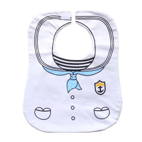 Sailor Suit Neat Solutions Baby Burp Cloths Infant Toddle Newborn Bib Set of 2