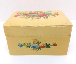 Vintage Peck & Peck Jewelry Trinket Box Keepsake Storage Organizer Made ... - $11.99