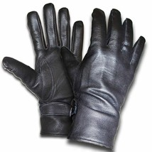 New Leather Gloves French Army Surplus - $14.23