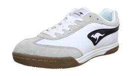 wht Kangaroos Speedball blk Shoes UK White Indoor 5 5 Mens 9 4P4wX
