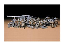 Tamiya 1/35 German 88mm Gun Flak 36.37 Plastic Model Kit 35017 - $26.14