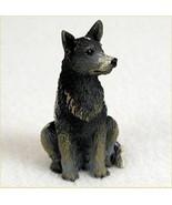 AUSTRALIAN CATTLE DOG TINY ONES DOG Figurine Statue Pet Gift Resin BLUE - $9.99