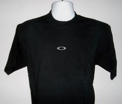 Mens Oakley Genuine Software T Shirt Medium Cotton Black Gray O Logo - $22.14