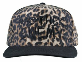 Another Enemy Unisex Safari Leopard Print Adjustable Snapback Baseball Hat NWT