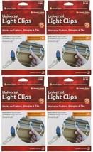 Lot 4x 25 Count Simple Living Innovations Universal Christmas Light Gutt... - $9.90