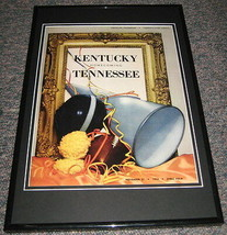 1953 Kentucky vs Tennessee Football Framed 10x14 Poster Official Repro - $32.36