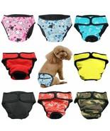 Pants XS-XXL Diaper Sanitary Washable Female Dog Shorts Dog Physiologica... - $15.73+