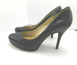 "Nine West Womens High Heeled Shoes 8 1/2M Black Heels: 4 1/2"" - $10.68"