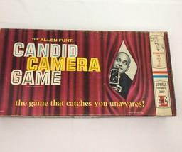Vintage Candid Camera Board Game 1963 The Allen Funt Lowell USA Rare Uni... - $39.99
