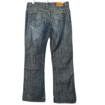 Levis Womens Jeans 522 Ultra Low Boot Size 8 Short X 29 Stretch - $39.35