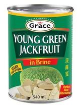 Grace Young Green Jackfruit 6 x 540g tins  - $69.99