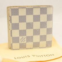 LOUIS VUITTON Damier Azur Porte Feuille Marco Wallet N60018 LV Auth 7945 - $210.00