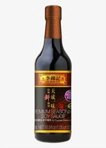 Lee Kum Kee Premium Seasoning Soy Sauce 16.9 oz ( Pack of 3 ) - $27.71