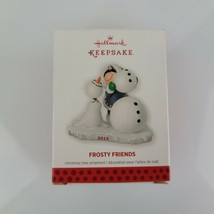 2013 Hallmark FROSTY FRIENDS Series #34 Keepsake Ornament - $24.75