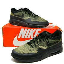 Nike Air Max 1 Ultra FlyKnit FK Olive Black Sequoia sz 14 856958-203 EUR 48,5  - $128.69