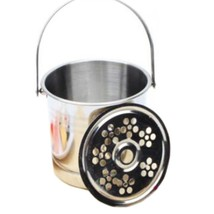 Stainless Steel Ice Bucket Champagne Bucket KTV Hotel - $245,54 MXN