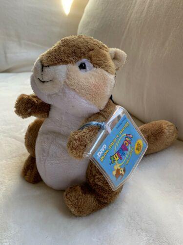 "Ganz Webkinz 9"" Chimpmunk Plush stuffed toy HM217. B2 Used nice Kids Doll Toy"