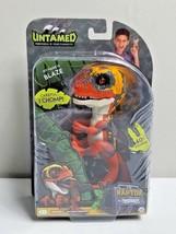 WowWee Fingerlings Untamed Raptor Dinosaur Fingerling - Blaze - Orange/Y... - $15.83