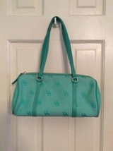 Women Dooney & Bourke Blue Green shoulder bag Handbag Purse - $29.99