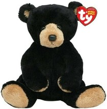 Ty Beanie Baby Snacks the Black Bear NEW - $12.86