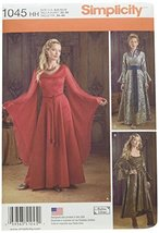 Simplicity Creative Patterns US1045HH Misses Fantasy Costumes, Size HH (... - $13.23