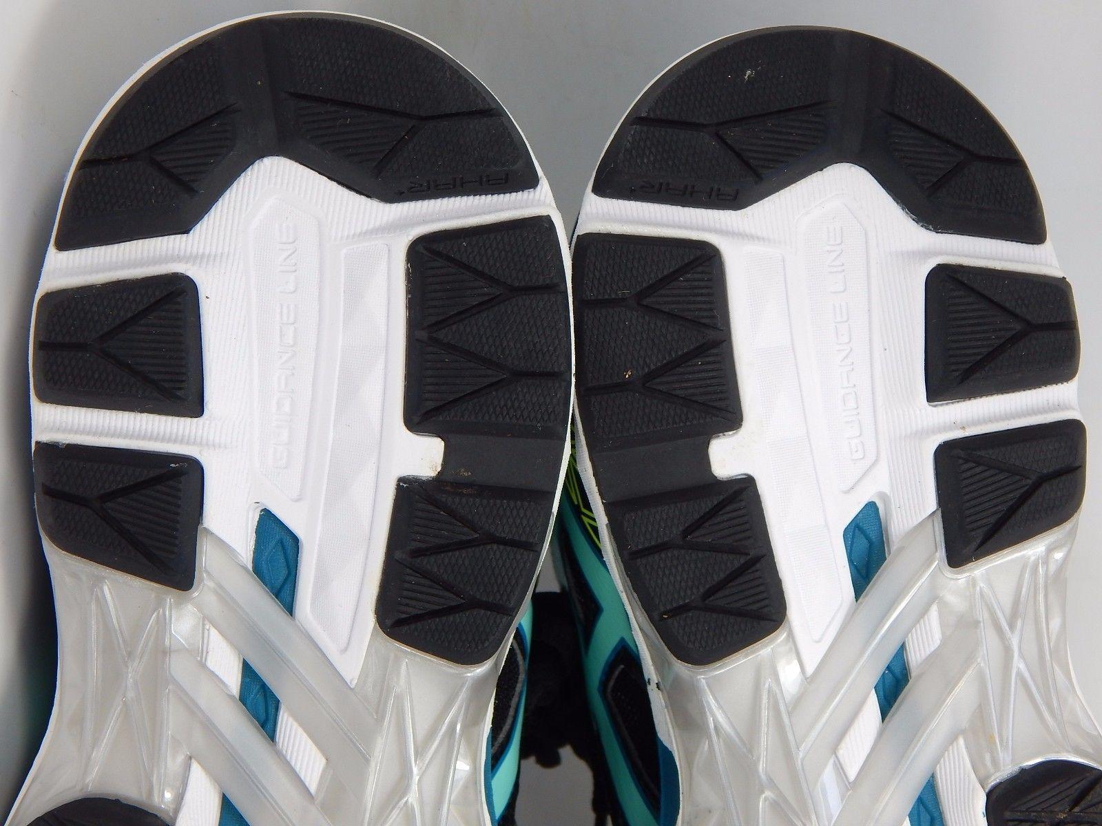 Asics GT 2000 v 4 Women's Running Shoes Size US 7 M (B) EU 38 Black Blue T656N