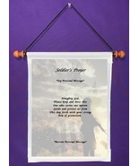 Soldier's Prayer - Personalized Wall Hanging (997-1) - $18.99