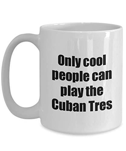 Primary image for Cuban Tres Player Mug Musician Funny Gift Idea Gag Coffee Tea Cup 15 oz