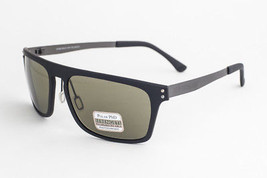 SERENGETI FERRARA Satin Black Polarized Phd Sunglasses 7893 - $126.91