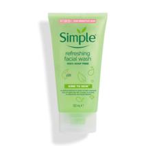 Simple Refreshing Facial Wash Gel 150ml (NEW) EXPRESS SHIPPING - £13.00 GBP