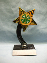 4H star trophy award personalized - $3.99