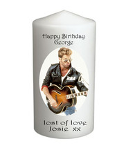 George Michael Candle, Extra Large, Can be Personalised #1 - $17.95