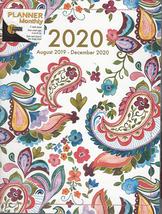 2020 Monthly Planner August 2019- December 2020 - $11.99