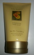 Victoria's Secret Garden Amber Romance Perfumed Stimulating Body Scrub 7 Oz - $8.01