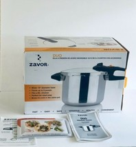 Zavor Pressure Cooker/Canner Duo 8.4 Qt. Stainless Steel Locking Lid Ste... - £64.43 GBP