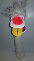 "D2 * Basic Custom ""Wacky White Hair w/Yellow Tongue""  Sock Puppet * Cust... - $5.00"