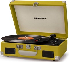 Crosley CR8005C-GR CRUISER II Portable Battery Powered Turntable Record Player - $80.95