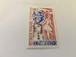 France Puppets on a string 1982 mnh - $1.20