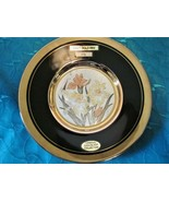 Dynasty Gallery Original CHOKIN Art Collection IRIS Black w/ 24K Gold 6.... - $12.86