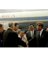 President John F. Kennedy arrives in Boston on Air Force One New 8x10 Photo - $8.81
