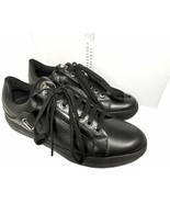 $625 Versace Collection Men's Sneakers Lace Up Medusa Trainers Sz 42 Black - $149.00