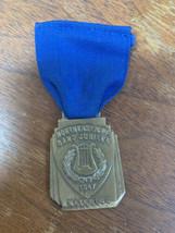 North East Iowa Band Jubilee 1947 Waterloo, Iowa Medal - $19.79