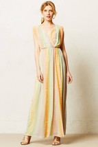 NWT ANTHROPOLOGIE SOLEN MAXI DRESS by FLEUR WOOD 10 - $99.74