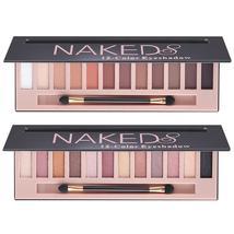 12 Long Lasting Eyeshadow Natural Shadows Shimmer Matte Makeup Palette - $21.99+