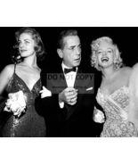 LAUREN BACALL, HUMPHREY BOGART & MARILYN MONROE - 8X10 PUBLICITY PHOTO ... - $15.00