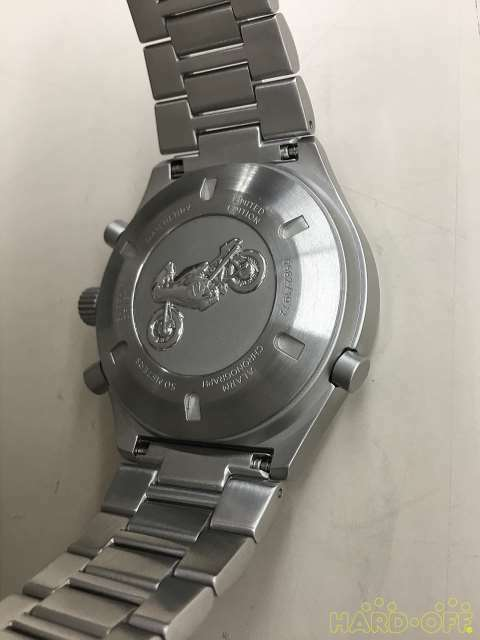 Dan Henry Group Quartz Chronograph Watch 0582 1972 Silver Analog image 5