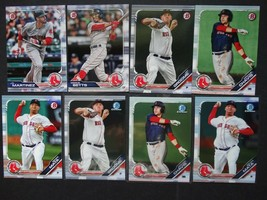 2019 Bowman Paper & Chrome Boston Red Sox Team Set 8 Baseball Cards - $5.99